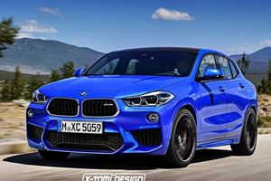 BMW X2 With 300 Horsepower Is Coming