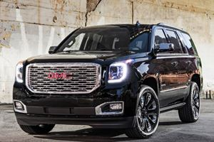 GMC Yukon Denali Ultimate Black Edition: The Escalade With Less Bling