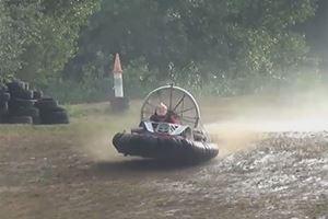 European Hovercraft Championship Racing