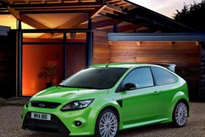First Look: 2010 Ford Focus RS