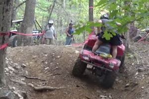 Man's Own 4-Wheeler Tries To Kill Him
