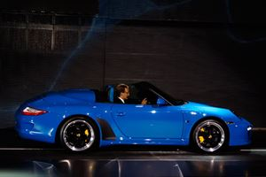 The Porsche 911 Speedster is Business as Usual