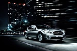 Infiniti Debuts New M Long-Wheel-Base Models in Beijing