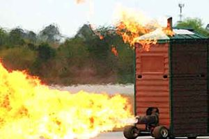 The Most Hilarious Rocket and Jet-Powered Vehicles