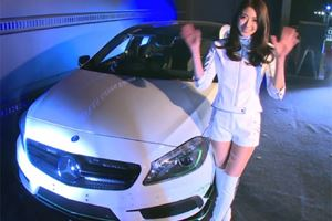 Mercedes A45 AMG Petronas Green Exclusive to Japan