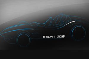 Delphi Drives the F1for3 Connected Car Concept to Geneva