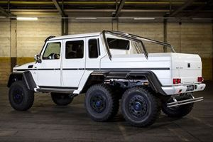 This G63 AMG 6x6 is Even More Outrageous than Usual