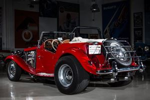 Jay Leno Gets In-Depth on 1952 MG TD Hot Rod Build, Now with V8 Power