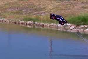 This Awesome Truck Cruises On Water And It Isn't A Miracle