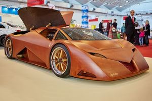 This Wooden Supercar Is No Joke