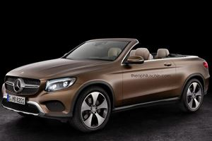 Mercedes May Lose Its Mind And Turn The GLC Into A Convertible