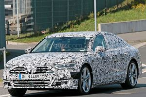 The Audi S8 Looks To Be Stealing Moves From The Porsche Panamera