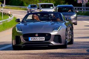 This Jaguar F-Type SVR Race Shows Top Gear Still Has A Future