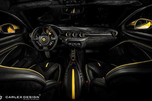 This Ferrari F12 Berlinetta Custom Interior Is A Feast For The Eyes