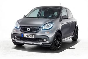 Smart ForFour Crosstown Edition Sneaks Into Shanghai