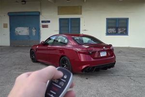 The Alfa Romeo Giulia QV Is The Four-Door Ferrari For Less Than $100K
