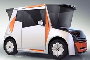 BMW's Former Design Chief Creates Quirky City Car For China