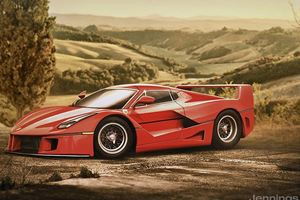 What Would Today's Supercars Look Like 30 Years Ago?
