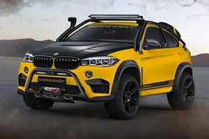 Manhart MHX6 Dirt² Is The Only 900-HP X6 That Can Scare A G-Class 4x4²