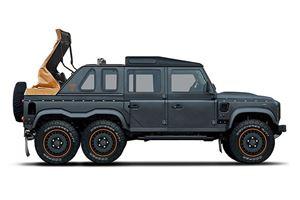 Kahn Fires Back At Maybach Landaulet With Flying Huntsman 6x6 Soft-Top