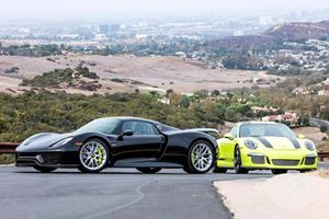 Sinning Porsche Owner Puts Matching 918 And 911 R On Auction Block
