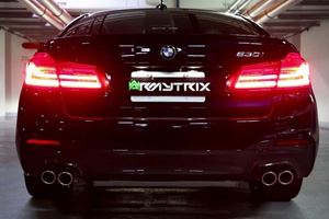 The Four-Cylinder BMW 530i Sounds Amazing With This Armytrix Exhaust