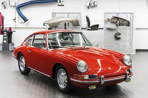 The Oldest 911 In The Porsche Museum Wasn't Originally Called 911