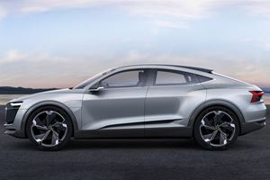 Audi Will Launch A Slick E-Tron GT Four-Door Coupe In 2022