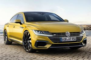 400-HP VW Arteon Planned To Compete With The...Panamera?