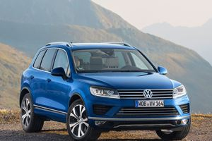 The VW Touareg Set To Make Stunning Return