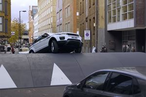 Watch The Range Rover Evoque Tackle The World's Largest Speed Bump