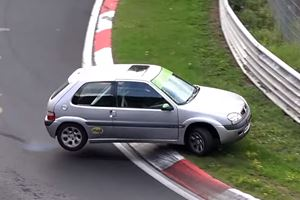 Watch 10 Minutes Of Cocky Idiots Nearly Crashing At The Nurburgring