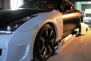 Nissan GT-R Widebody Kit by Axell Auto