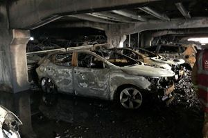 1,400 Cars Perish In Massive Parking Garage Fire