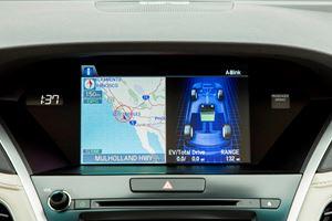 2018 Acura RLX Sport Hybrid Dashboard Layout