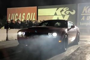 Watch The Dodge SRT Demon Make Mincemeat Out Of Hellcats