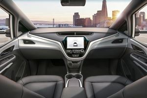GM Reveals Autonomous Car With No Steering Wheel Or Pedals