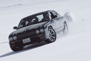 Skiing In Old Jaguars Looks Like Stupidly Good Fun