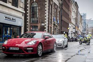Panamera Sport Turismos Used To Transport $13.9M In Gold Bricks