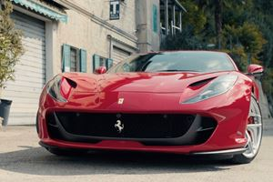 Listen To A Ferrari 812 Superfast Show Turbocharged Cars How Fun Is Done