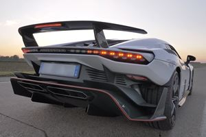 Watch The First Ever Italdesign Zerouno Roar Down Rural Roads