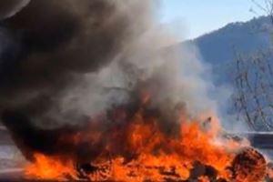 Chris Harris Escapes Alpine A110 Fire During Top Gear Monaco Shoot
