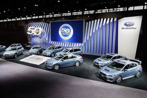 Subaru Paints All Of Its Cars Heritage Blue For 50th Anniversary