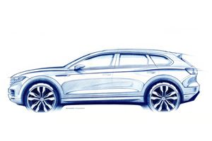 2019 Volkswagen Touareg Teased Ahead Of Debut