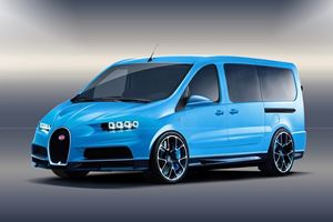 What Would A Bugatti Van Look Like?