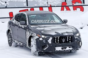 Here's A First Look At The Ferrari-Powered Maserati Levante GTS