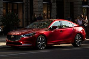 We Finally Know How Fuel Efficient The Mazda6 Turbo Will Be