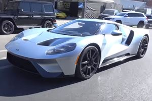Tim Allen Shows Off His Shiny New Ford GT