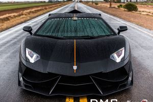 988-HP Lamborghini Aventador Gets Extreme Carbon Makeover