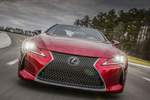 Bold Styling Decisions: 2018 Lexus LC 500